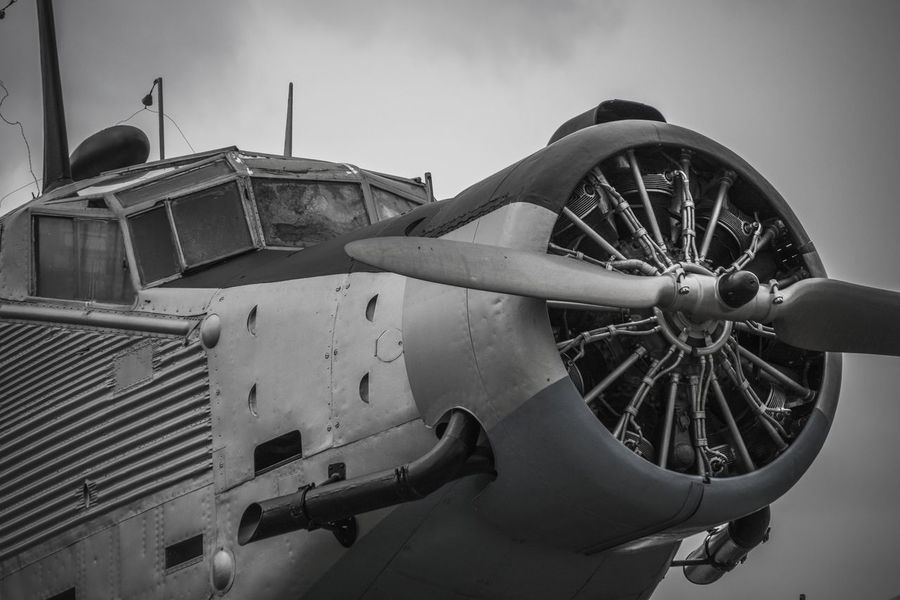 Classic Aircraft Ju 52 Junkers JU52 Luftwaffe WWII Abandoned Air Vehicle Airplane Classic Planes Damaged Military Military Airplane Old Aircraft Ww2 Ww2 Airplanes Ww2warbirds Black And White Friday