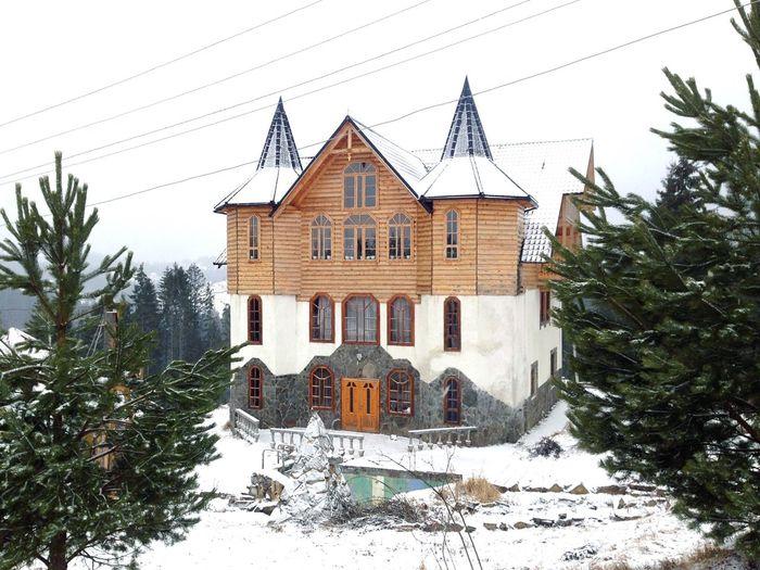 Bukovel Karpaty Villa Winter Карпаты буковель House Carpathians