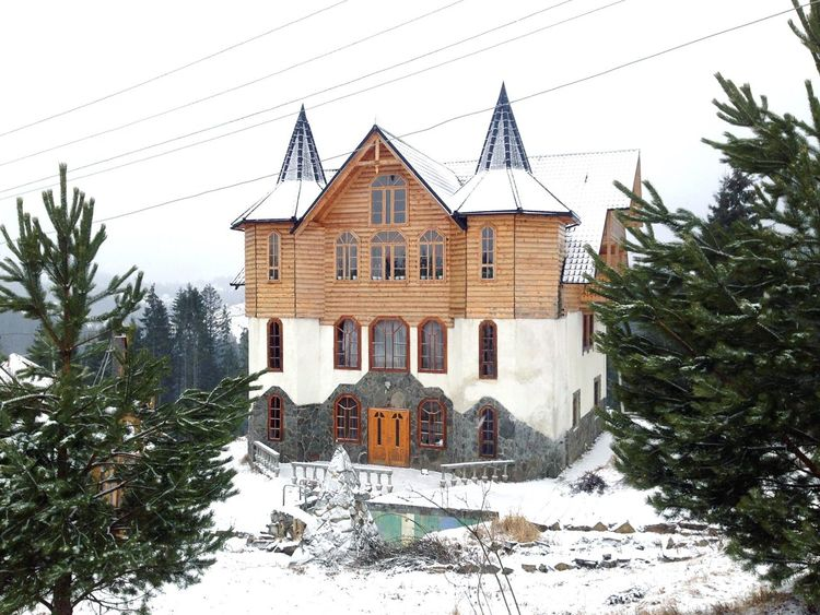 Bukovel Karpaty Villa Winter Карпаты буковель House Carpathians