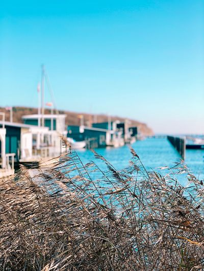 Water Sky Nature Sea No People Transportation Day Clear Sky Pier Architecture Focus On Foreground Beach Outdoors Harbor