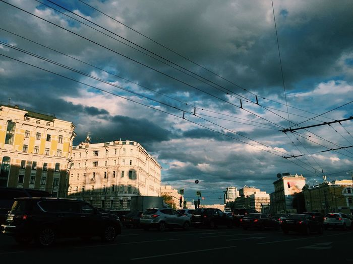 Cityscapes City Life Clouds And Sky Architecture Architecture_collection Road Walking Around The City  City Moscow