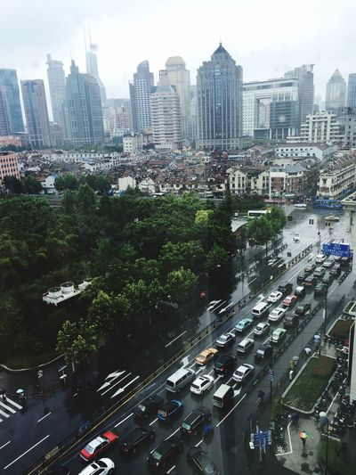 such a long time to be in Shanghai again