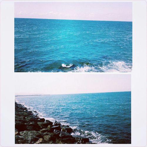 Karadeniz Samsun Batıpark Sahil Huzur Huzur Ve Mavi Sonsuzluk ✴ First Eyeem Photo