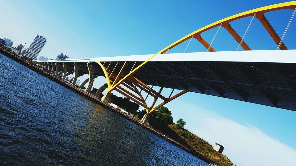 Bridge Kayak Port Of Milwaukee Adapted To The City