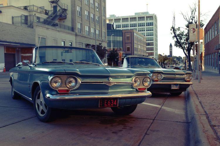 The shining Twins Chevy Downtown Car Explore Allday