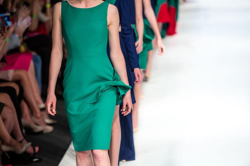 Fashion show, catwalk event, runway show, fashion week themed photograph.