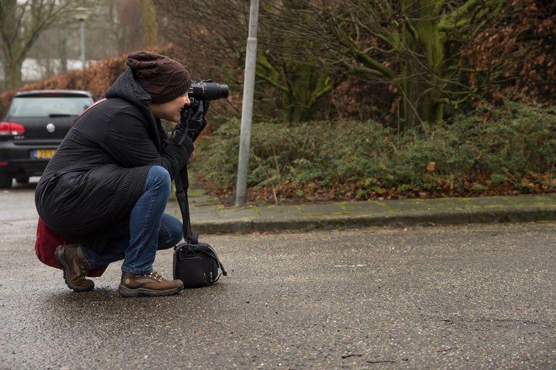 That's Me Photo Taken By Friend