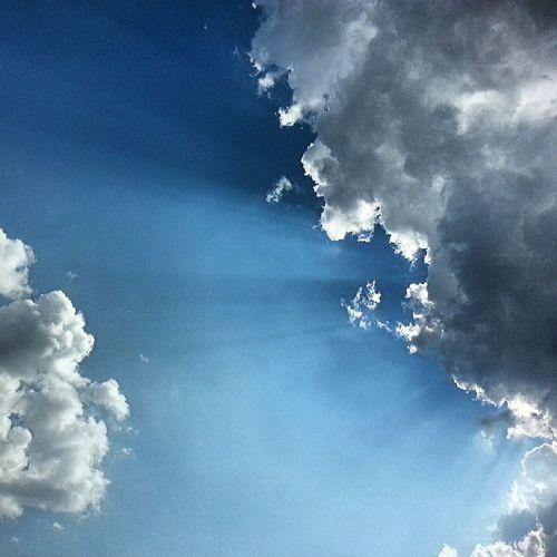 Cumulus congestus és tyndall