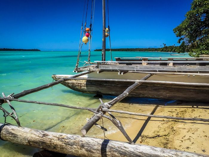 Isle de pines Isle Of Pines New Caledonia Relaxing Hello World Taking Photos Gorgeous ♥ Colourful Boats Outdoors Colors Tranquility Vibrant Colors