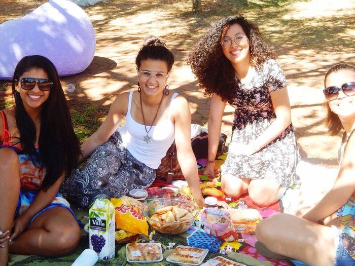 Amigas Mimosa Piquenique Amo ❤