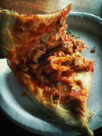 Fav Pizza #spicychicken & #bananapeppers