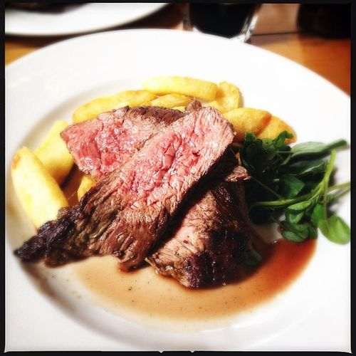 South Devon bavette steak, so delicious!