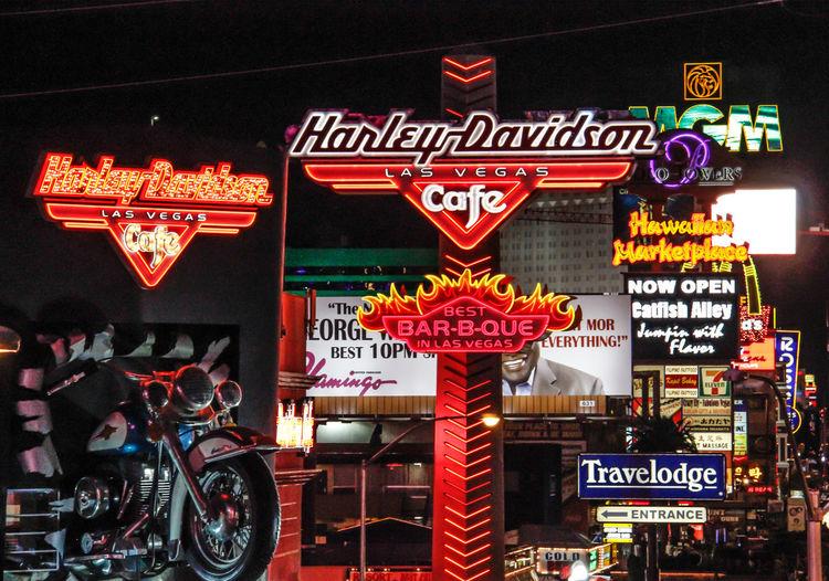 Advertisement All The Neon Lights Bright Lights City Life Fun In Las Vegas Illuminated Night Sign