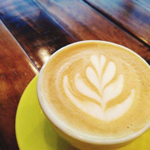 Latte Art Coffee Relaxing Oriolecafe