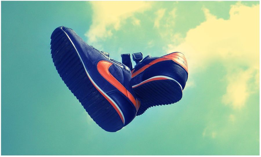 Nike Sneakers Sky Product Photography
