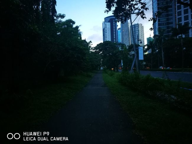 5 AM on 5th Avenue BGC, Taguig BGC Taguig EVA-L19 Phone Photography Phonetography No Filter No Filter, No Edit, Just Photography Nofilter Tree City Skyscraper Sky Architecture Building Exterior Grass Empty Road First Eyeem Photo
