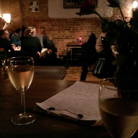 Dinner Wine Restaurant Menu Relaxing Waiting Love Without Boundaries
