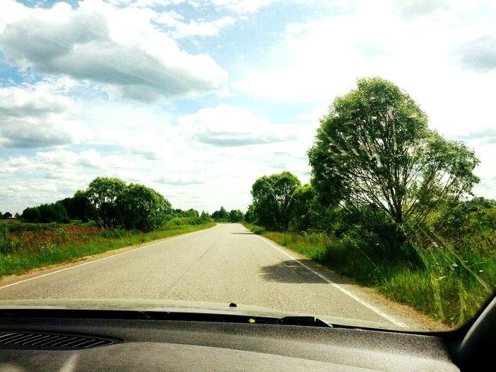 Дорога-одно из самого лучшего, что может быть .. First Eyeem Photo