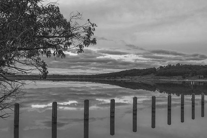 """In photography there is a reality so subtle that it becomes more real than reality."" Alfredstieglitz Photography Landscape Balckandwhite Nature Lake Tree Clouds Hills Naturephotography Naturelovers Landscapelovers Explore Travel Victoria Australia Canon 28mm"