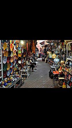 Marrakech Mercado Calles Moroco