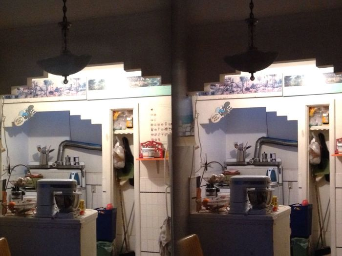 My Kitchen 3D Camera Stereoptic Poppy3d
