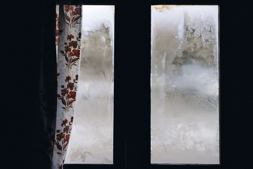 EBC Trek, Nepal Frost Ice The Week on EyeEm Winter Architecture Building Built Structure Close-up Cold Cold Temperature Curtain Damaged Day Full Frame Glass - Material House Indoors  No People Old Pattern Wall - Building Feature White Color Window Windows Winter