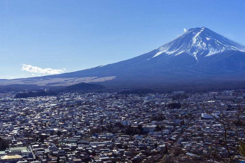 Fuji city Fujisan Fuji Mountain Landscape Japan Travel ASIA Urban Asdgraphy No People Scenery Sony Sony A6000 Sonyimages Sonyphotography Sonyalpha Alphauniverse Mountain Snow Cold Temperature No People Cityscape Scenics Blue Winter Snowcapped Mountain Landscape Outdoors Travel Destinations City Day Sky