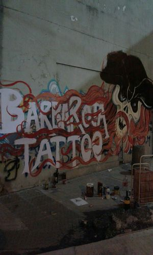 Barba Roja Tattoo Pirata Skull Graffiti Graffitiporn Colors Taking Photos Check This Out EyeEm Best Shots Popular Photo Argentina