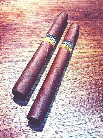 Placer en hojas. Tabaco Fumando... Placer Cuba