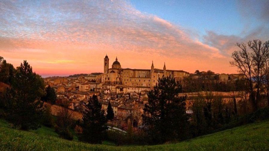 Urbino Architecture Nature Photography Nikonphotography Nikon D5200 Sunset