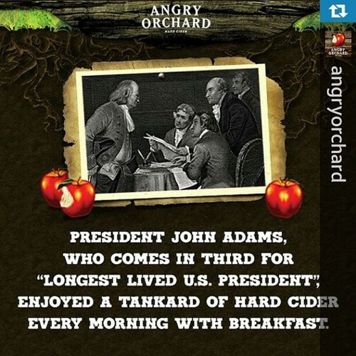 I could get down with that... We can call it Breakfast !! Repost from @angryorchard with @repostapp — In honor of NationalAppleMonth , we'll be sharing fun apple and Cider facts throughout October! Did you know this one? FunFact AngryOrchard HardCider