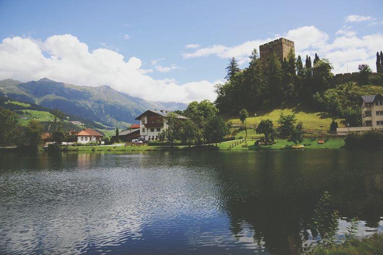 Nice view at Burg Ladis Landscape Architecture