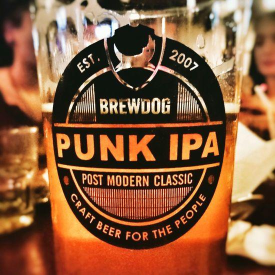 Brewdog PunkIPA Seenspace Bangkok Thailand Travel Chilling EyeEm Best Edits