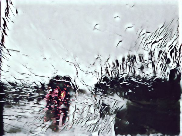 Driving Submerged Reflection Wet Rain Water Rainy Season Outdoors Being Creative. Enjoying Life The Way Forward Being Creative Extreme Edit EyeEm Best Edits My Art, My Soul... My Unique Style Popular Photos