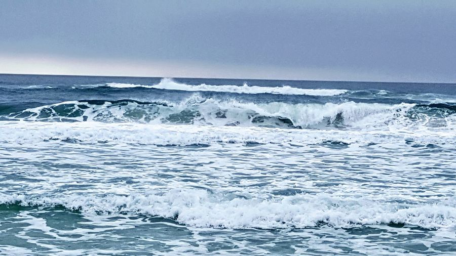 Rough waters in