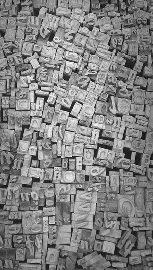 Full frame shot of alphabet blocks