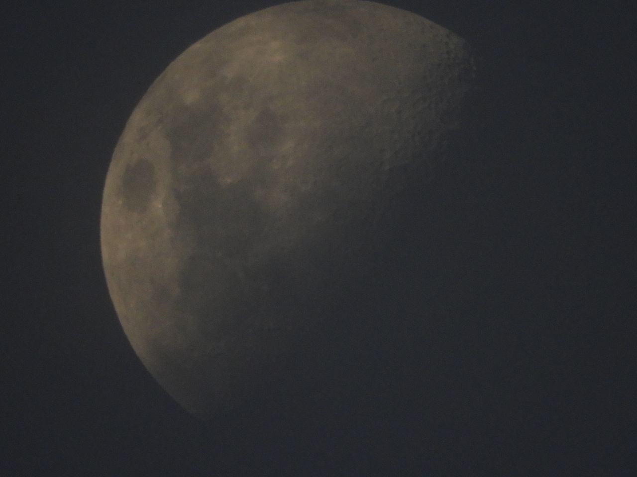 moon, astronomy, night, moon surface, planetary moon, beauty in nature, space exploration, circle, nature, scenics, majestic, tranquility, space, tranquil scene, half moon, low angle view, no people, discovery, sky, outdoors, crescent, semi-circle, clear sky, close-up
