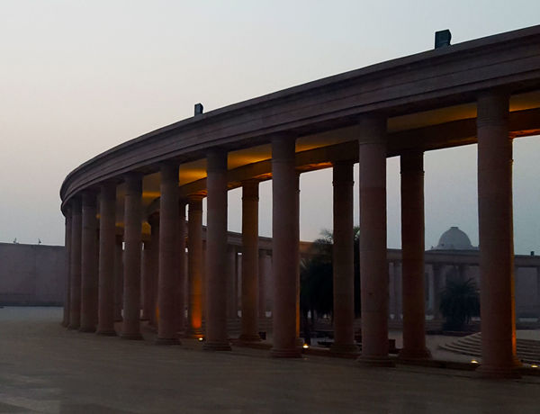 Architectural Column Outdoors Ambedkar Park,monument Travel Built Structure Architecture Lucknow Craft Lucknowdiaries Travel Destinations Geometric Shape Shape Cityscapes Architecture