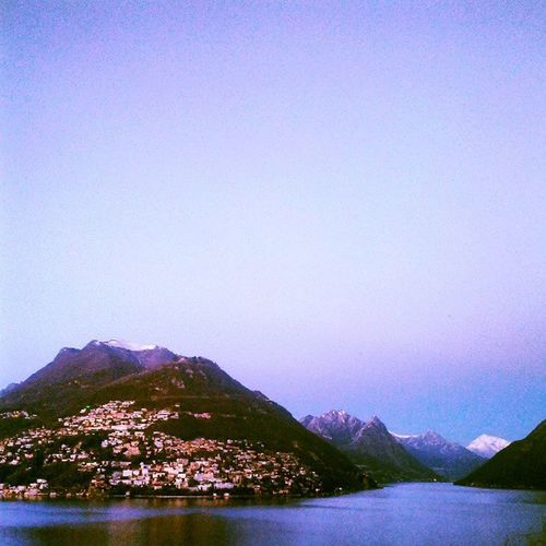 Oggi giornata di laghi... Touring Switzerland ;-)