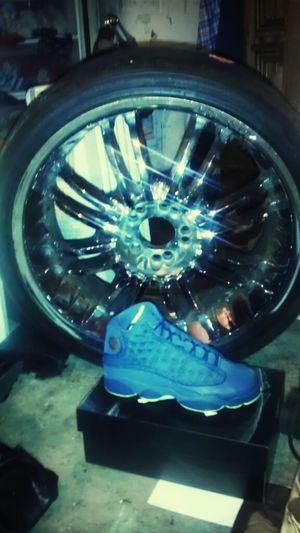 23's on my feet 23's on d whip