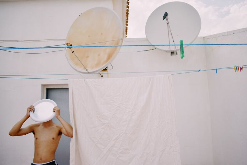 Shirtless White Color Day Hygiene One Person Men Indoors  Architecture One Man Only Young Adult People Mirror Reflection Be. Ready. EyeEm Ready   Creative Space My Best Photo