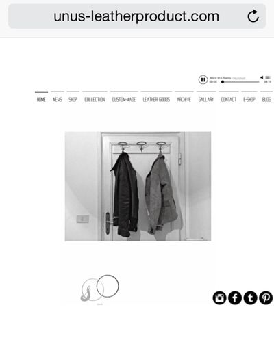 This is the my label website.Please check this out!!HP:www.unus-leatherproduct.com Unus Work Leather Jacket Leatherjacket Menswear Mensfashion Artisan Made In Japan Handmade