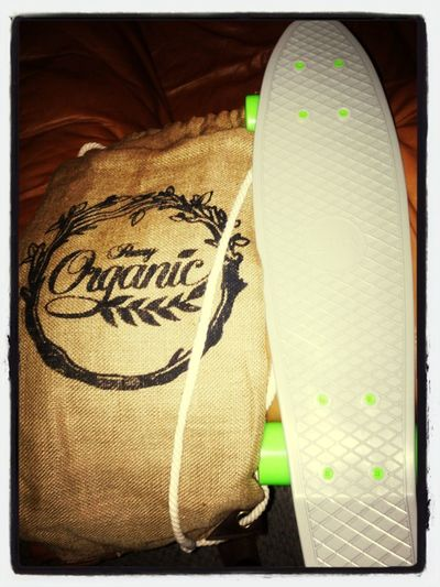The new organic penny board.