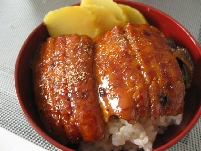 Bowl Eel Food Home Cooking Home Cooking. Japanese Food No People Ready-to-eat ミニ うな丼