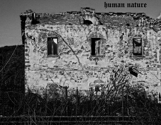 human nature Abandoned Architecture Building Exterior Built Structure Day No People Outdoors Sky Text