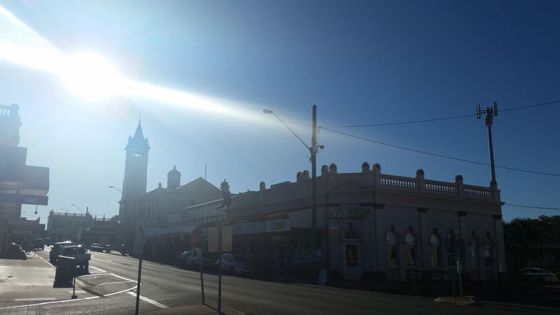51 days driving around Australia - Day 40 Charters Towers Architecture Building Exterior Built Structure Lens Flare Travel Australia Travel Destinations