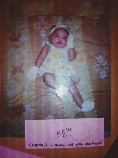 me at 6 months old haha <333 Throwback BabyDays