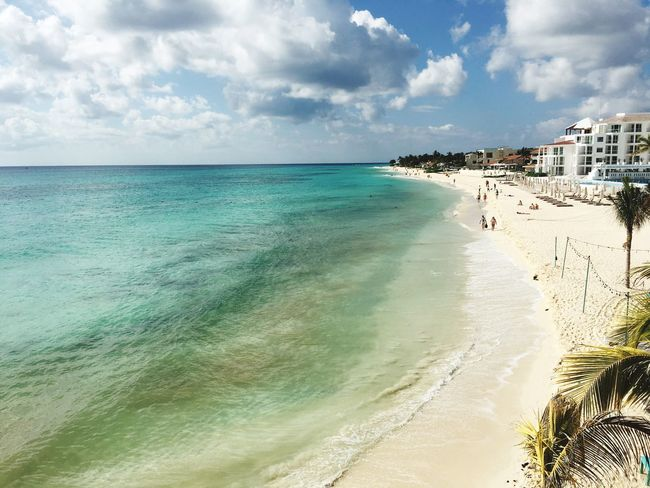 Sea Water Beach Beauty In Nature Tranquility Travel Destinations Vacations Outdoors Latina Mexico Yúcatan Mexican Culture Travel Playa Playadelcarmen Mexico De Mis Amores Latin America 🌺♥️