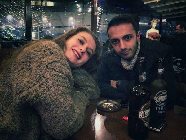 Biz yine bir arada Good Nigh ✌ That's Me Hello World Istanbul Turkey Kadıköy Bomonti Enjoying Life That's Good Last Drink, I Promise