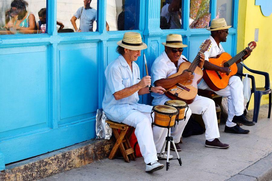 Cuba Havana Street Music Che Guevara